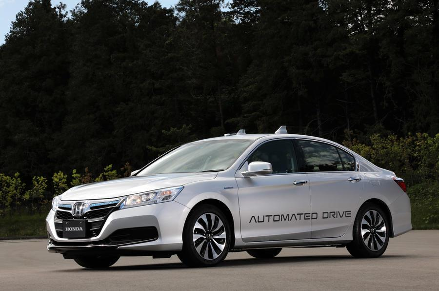 Honda plans level 4 self-driving vehicles by 2025