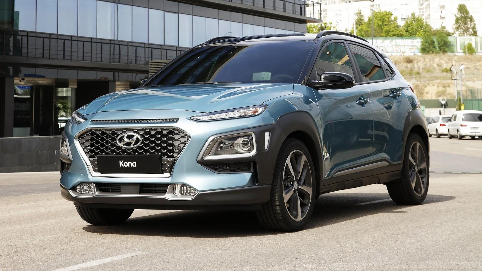 New Hyundai Kona revealed
