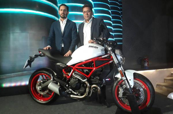 2017 Ducati Multistrada 950, Monster 797 launched