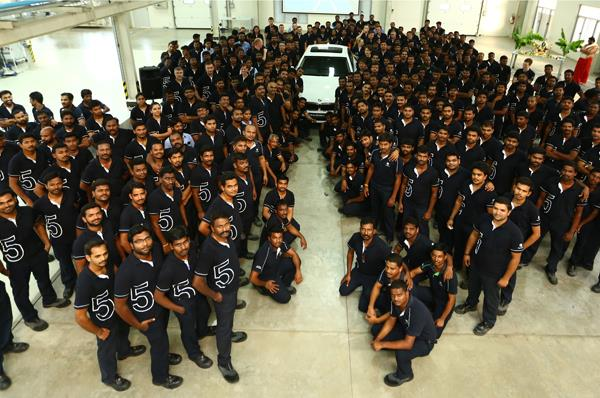 Made-in-India new BMW 5-series production starts