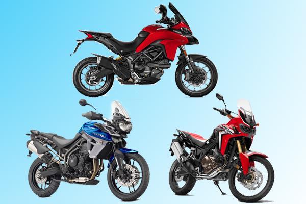 Ducati Multistrada 950 vs rivals: Specifications comparison
