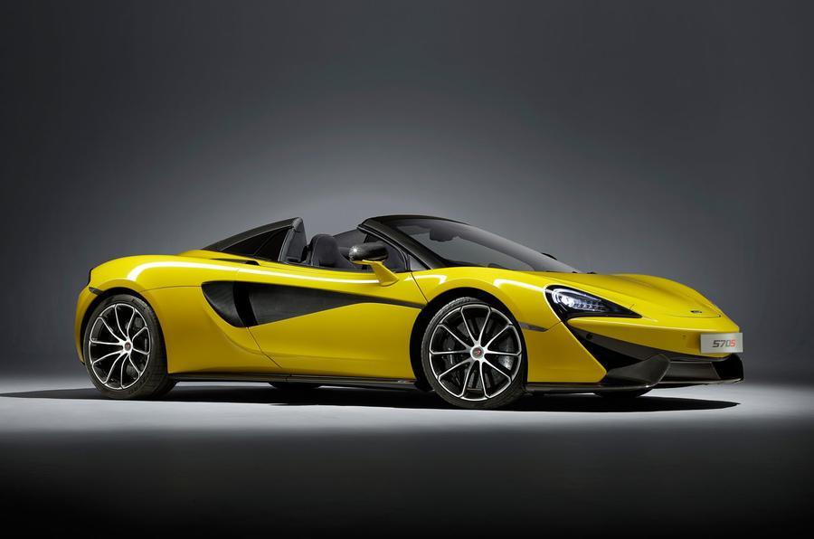 McLaren 570S Spider revealed