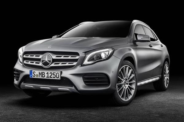 Mercedes GLA facelift launch on July 5, 2017