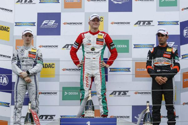 F3 podium for Jehan in Hungary