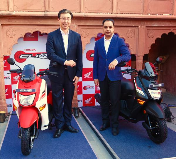 Honda Cliq scooter launched at Rs 42,500
