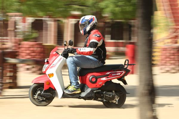 2017 Honda Cliq review, test ride