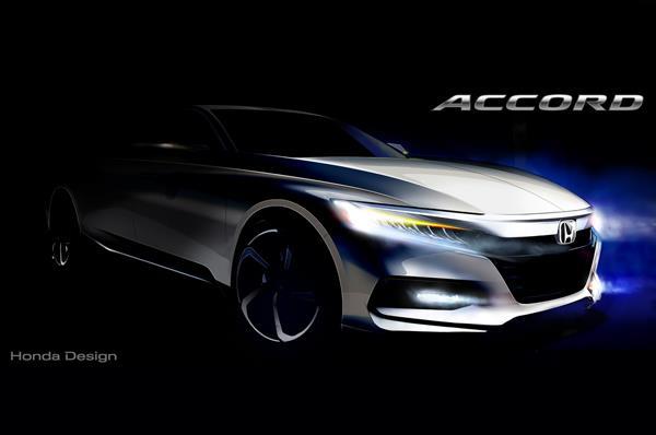 Next-gen Honda Accord teased ahead of global debut