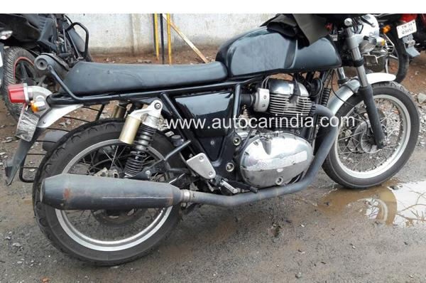 More details of Royal Enfield Continental GT 750 emerge