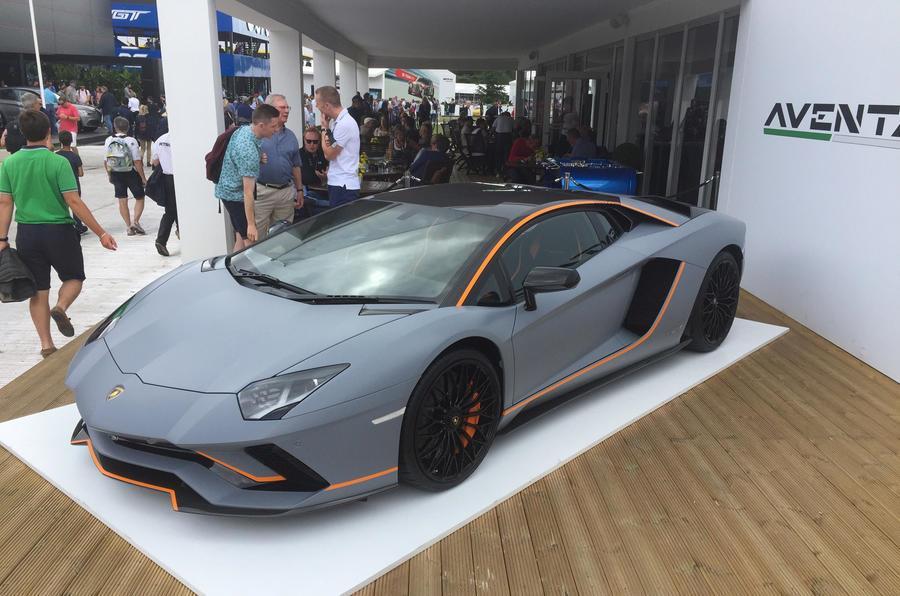 Lamborghini creates one-off Aventador S for Goodwood