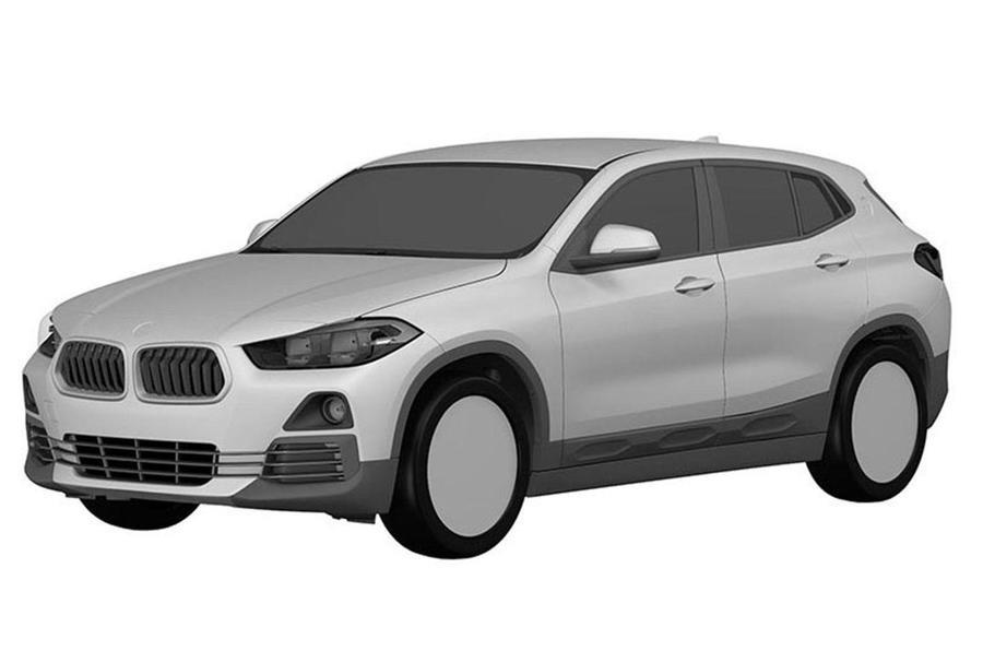 BMW X2 patent drawings reveal final design