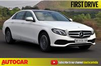 2017 Mercedes-Benz E 220d video review
