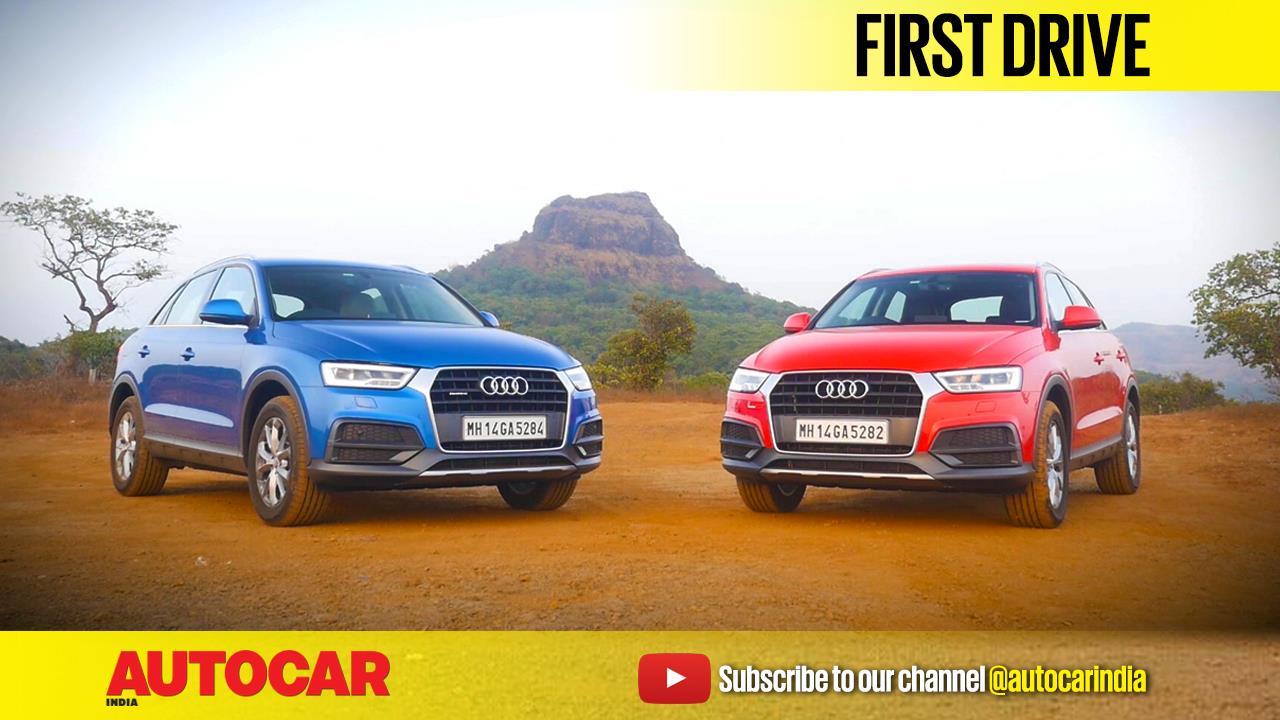 2017 Audi Q3 facelift video review