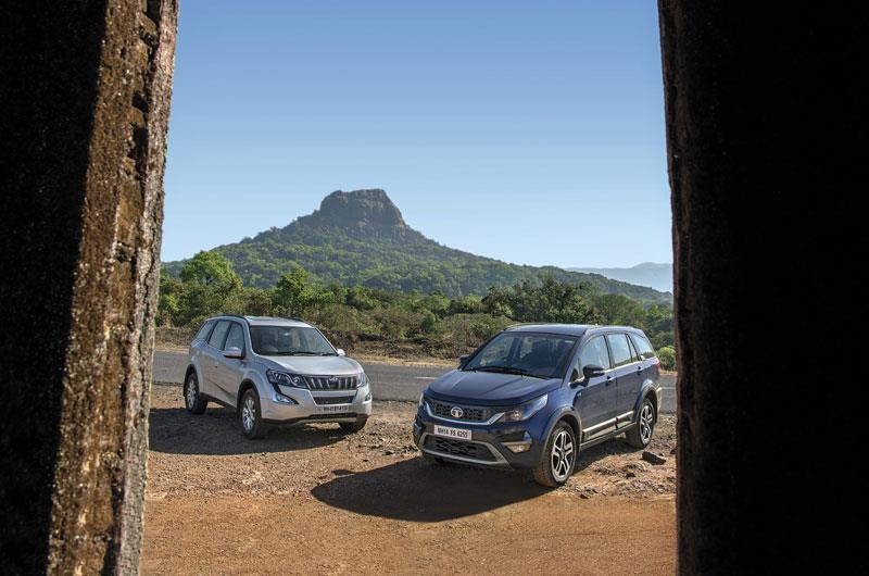Tata Hexa vs Mahindra XUV500 comparison