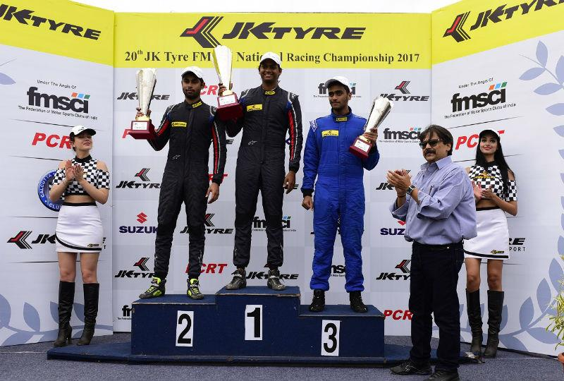 Prasad, Mandody dominate Euro17 and LGBF4 in round 1 of JK National Racing