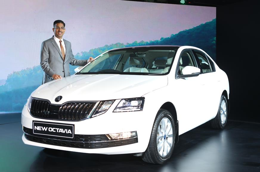 Skoda Octavia facelift launched at Rs 15.50 lakh
