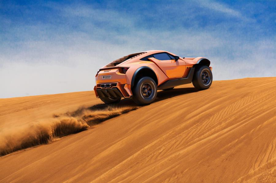Zarooq SandRacer 500 GT revealed