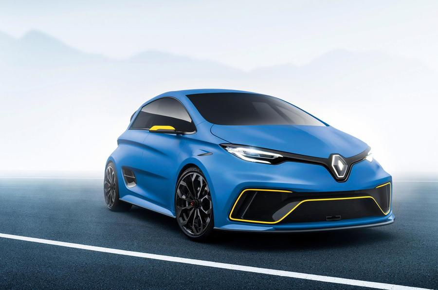 Renault looking to launch Zoe RS before 2020
