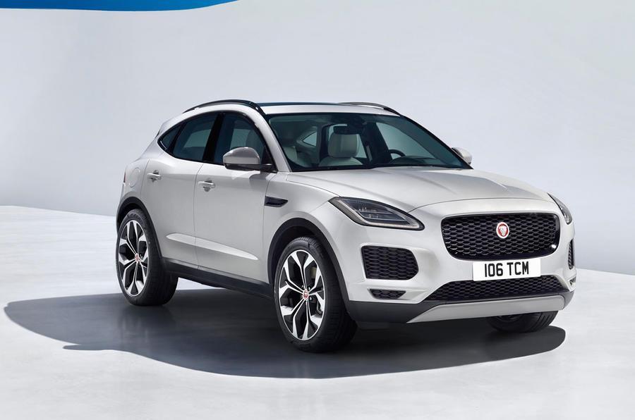 2018 Jaguar E-Pace officially revealed