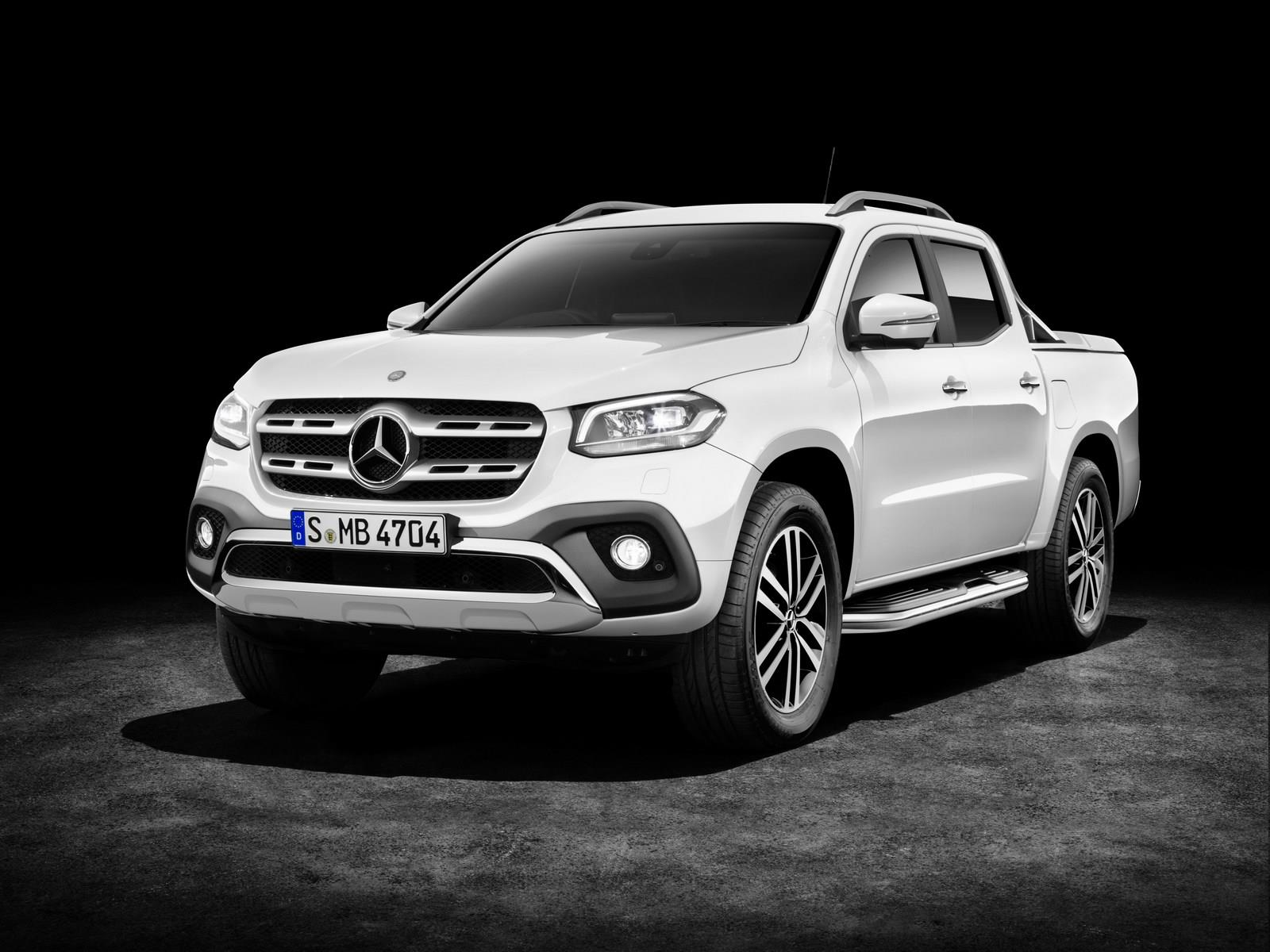 Mercedes X-class pickup unveiled