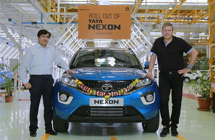 Tata Nexon production begins ahead of festive season launch