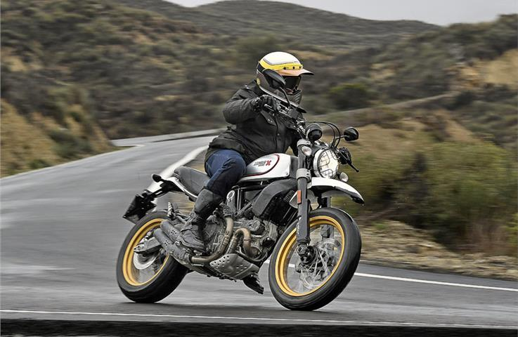 2017 Ducati Scrambler Desert Sled review, test ride