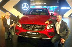 Mercedes-AMG GLC 43 Coupe launched at Rs 74.8 lakh
