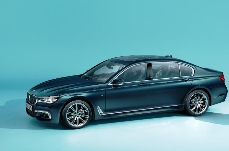 BMW 7-series Edition 40 Jahre breaks cover before Frankfurt