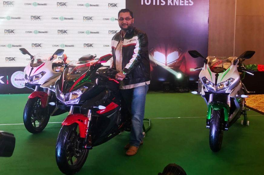 DSK Benelli 302R launched at Rs 3.48 lakh