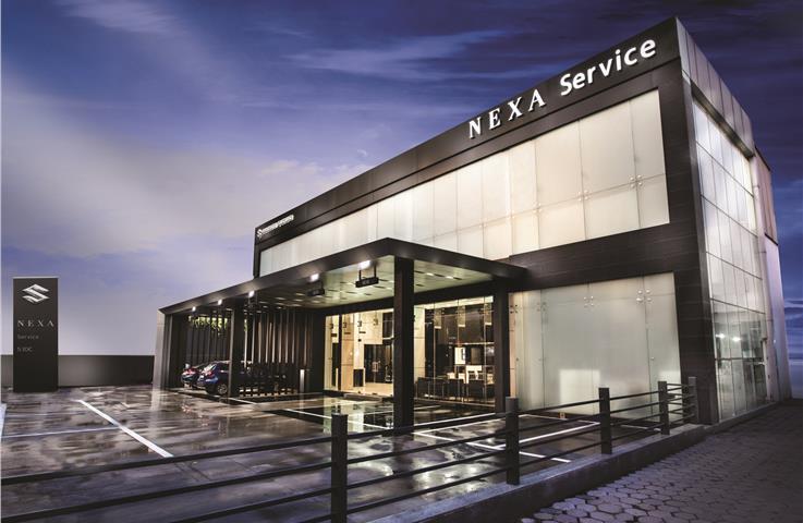 Maruti launches Nexa service chain