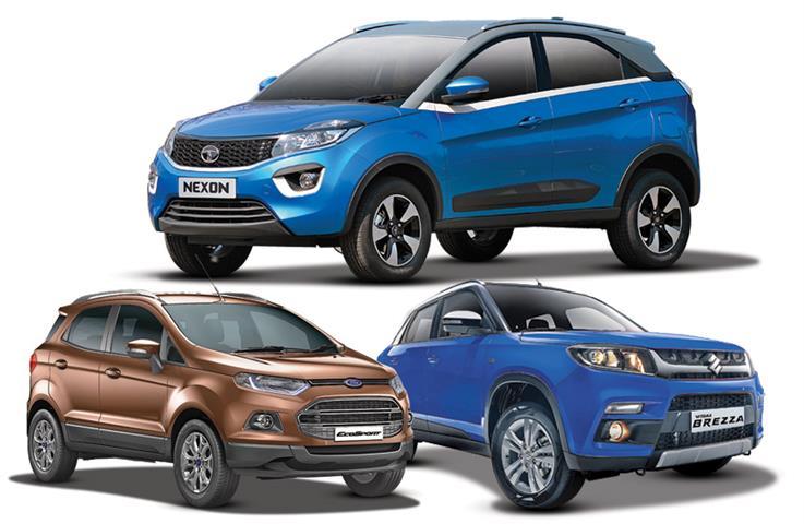 Tata Nexon v rivals: Specifications comparison
