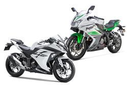 2017 Benelli 302R vs Kawasaki Ninja 300: Specifications comparison
