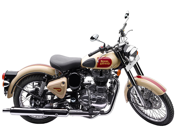 New silencer for Royal Enfield motorcycle
