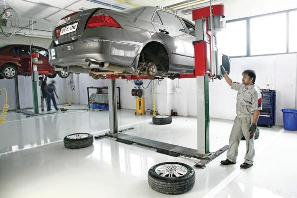 What to avoid during a car service