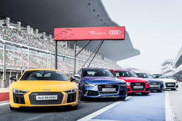 Audi Sportscar Experience at Buddh International Circuit