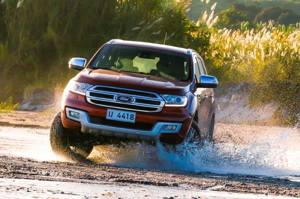 Off-roading in the Philippines with Ford SUVs