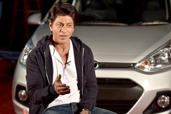 "Shah Rukh Khan: ""I do my own stunt driving"""