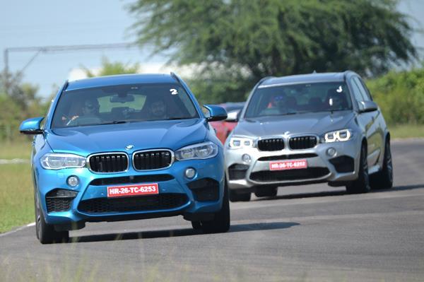 BMW X5M, X6M track drive