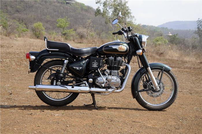 Booked a Royal Enfield Bullet 500
