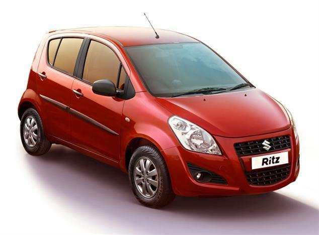 Correct pressure for upgraded tyres on Maruti Ritz