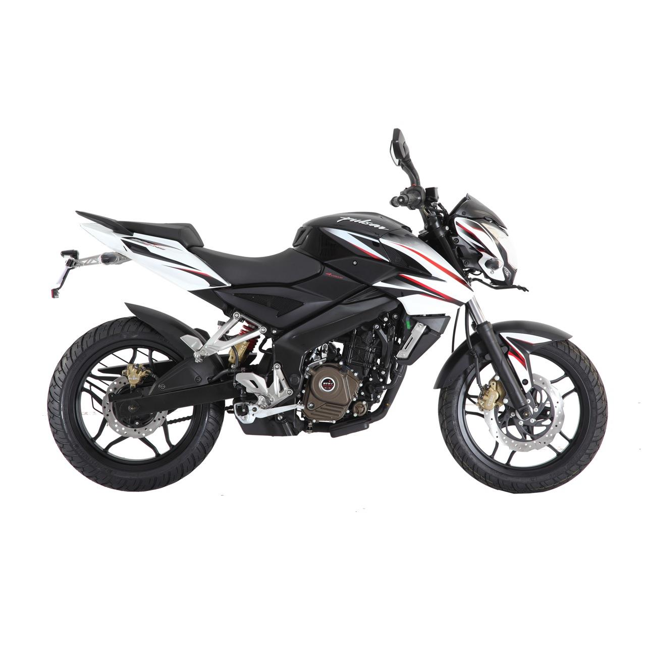 New Bajaj Pulsar 200NS Black