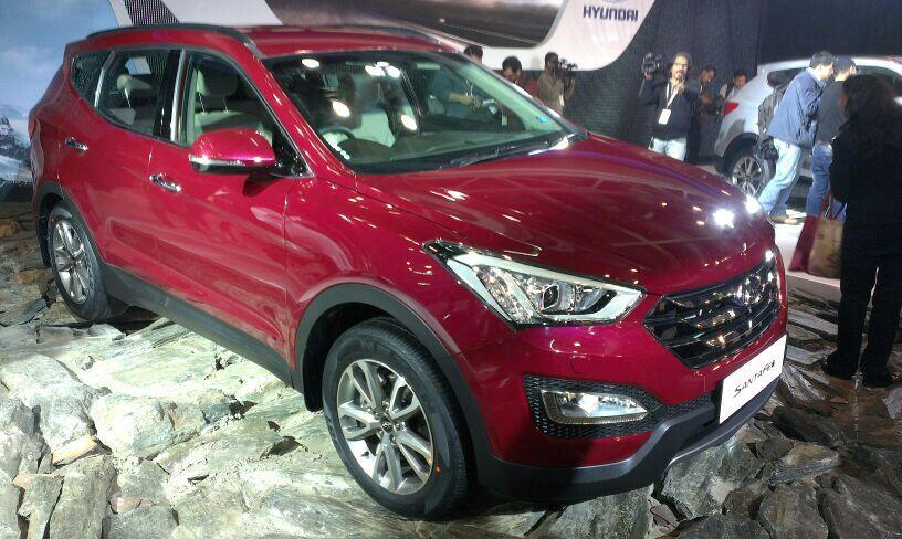 Hyundai has launched the new Santa Fe at Auto Expo 2014
