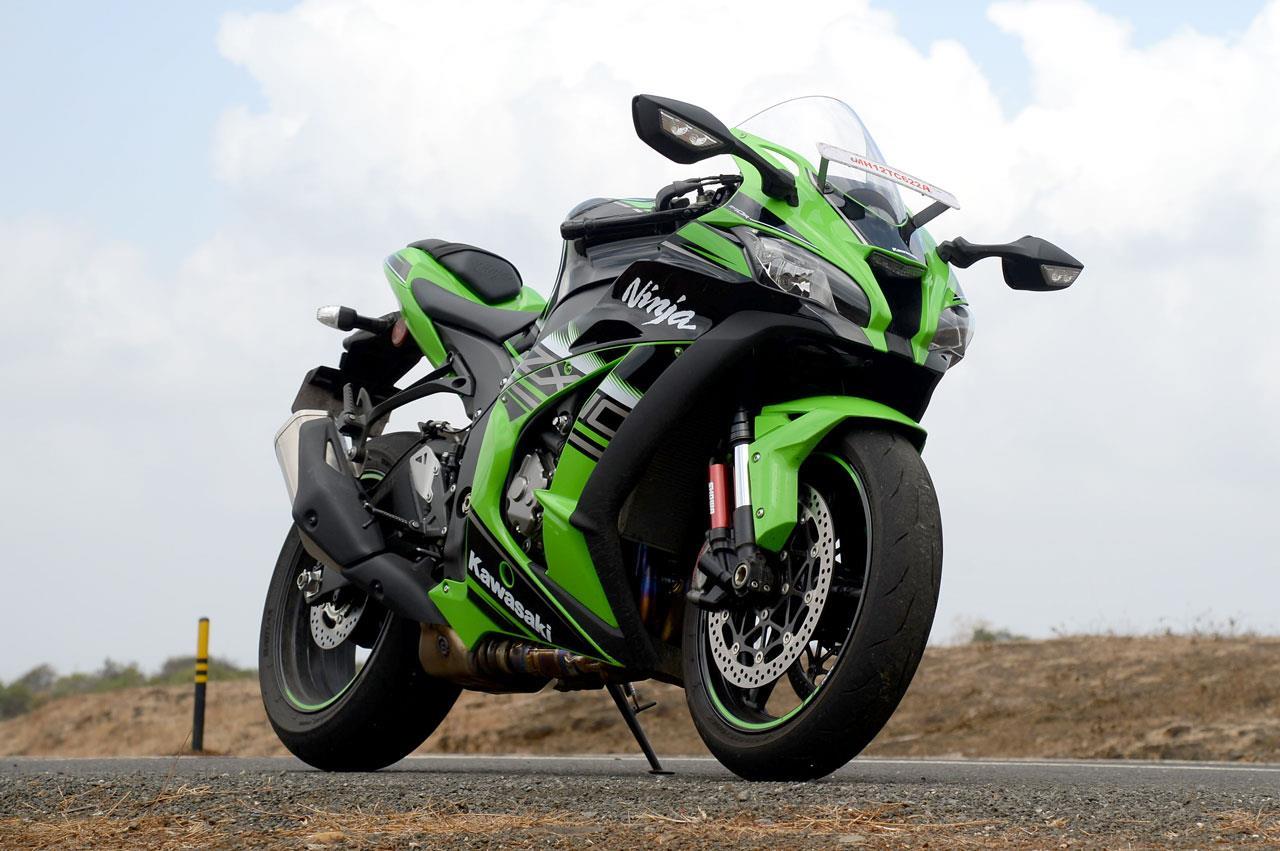 Kawasaki Ninja ZX10R photo gallery