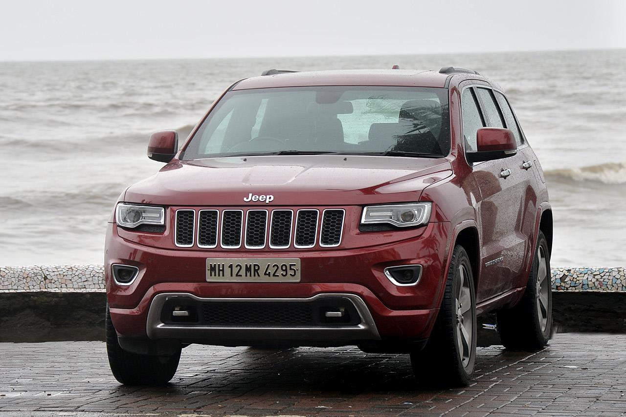 Jeep Grand Cherokee India photo gallery