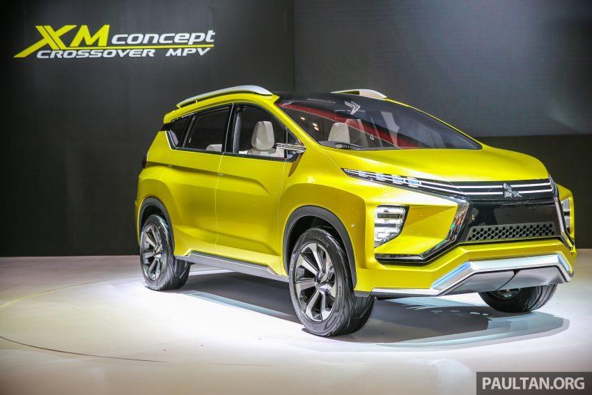 Mitsubishi XM concept MPV photo gallery