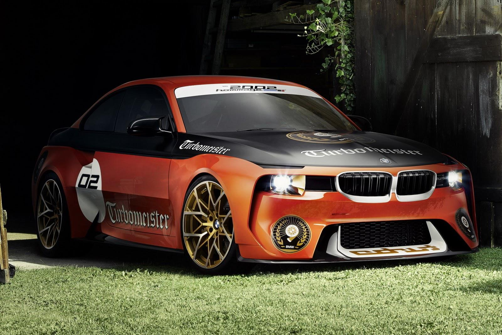 2016 BMW 2002 Hommage concept photo gallery