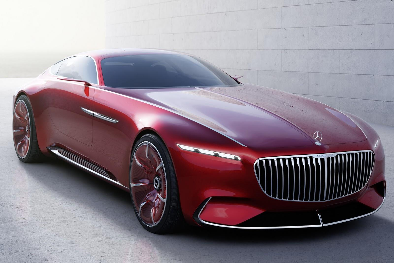 Vision Mercedes-Maybach 6 concept photo gallery