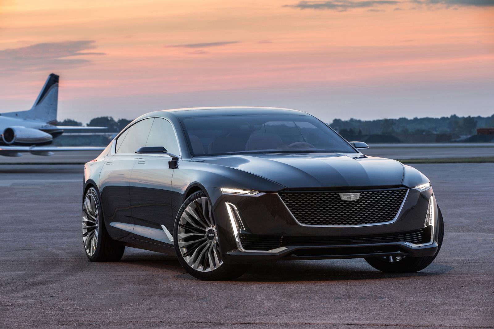 Cadillac Escala concept photo gallery