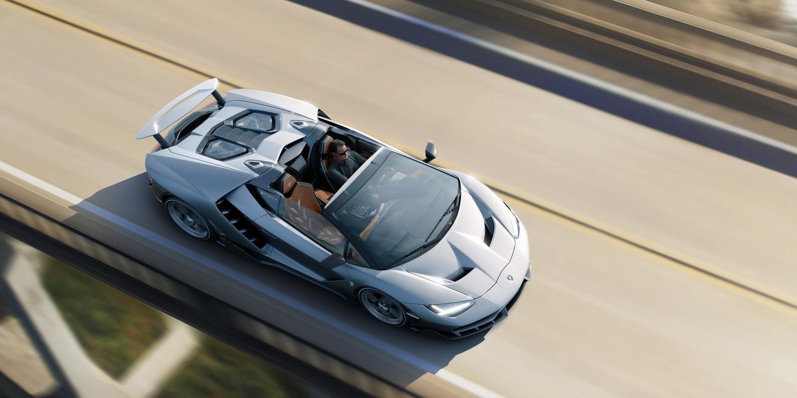 Lamborghini Centenario Roadster photo gallery