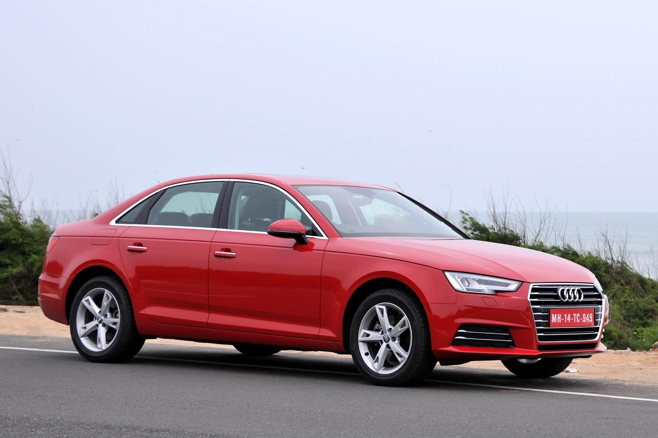 New Audi A4 photo gallery