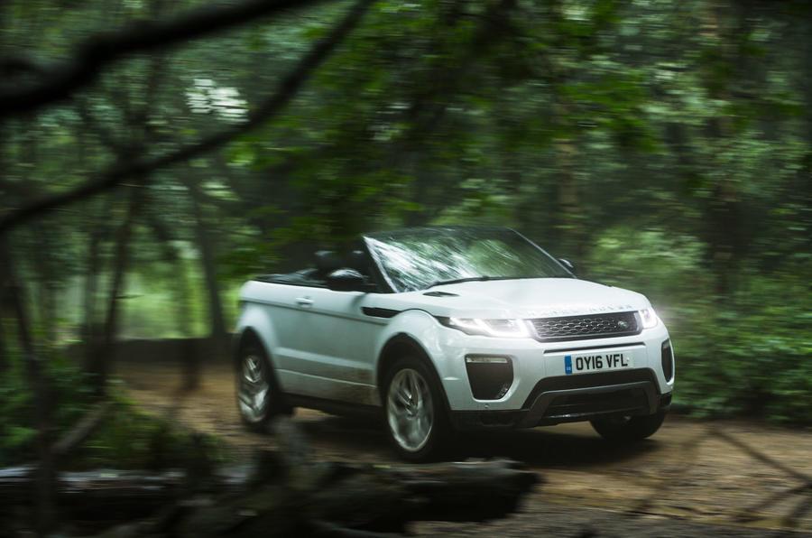 Range Rover Evoque convertible photo gallery